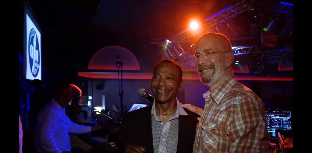 Dan Simmons und Rik De Lisle on stage (22.03.2014). Event by Soul-Jazz.de - Dr. Nikolaus Andre.
