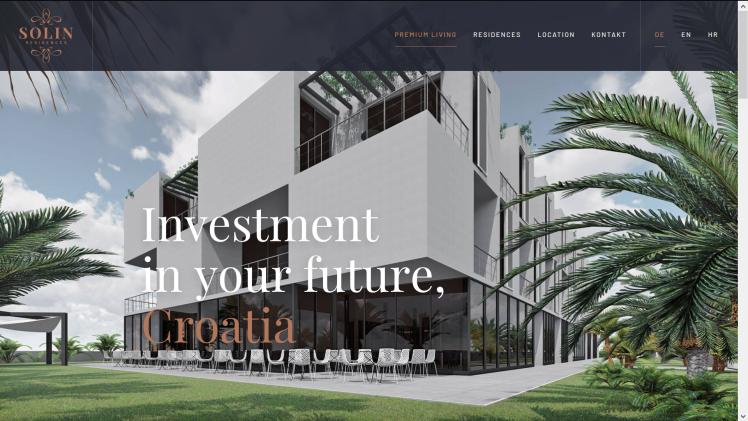 www.solin-residences.com by Avocons d.o.o. 2018/2019, Projektleitung Dr. Nikolaus Andre