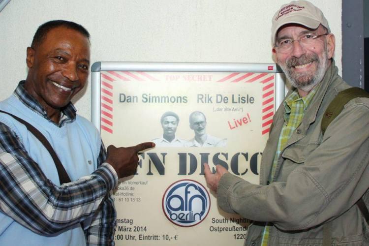 Dan Simmons und Rik De Lisle am 22.03.2014, South Nightlife Club Berlin, Event by Soul-Jazz.de/Dr. Nikolaus Andre