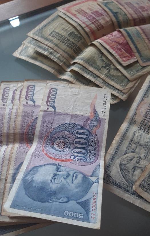 Jugoslawischer Dinar 1989