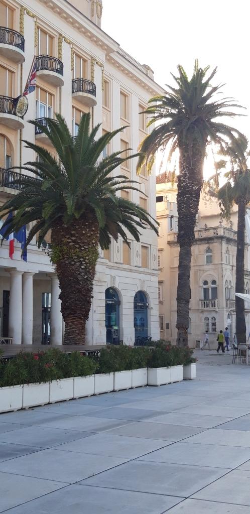 Split - Riva, Britische Botschaft Split