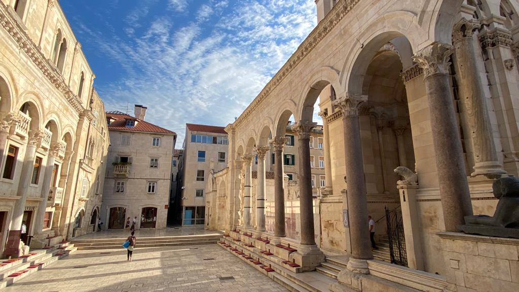 Palast des Kaisers Diocletian - Das Zentrum von Split